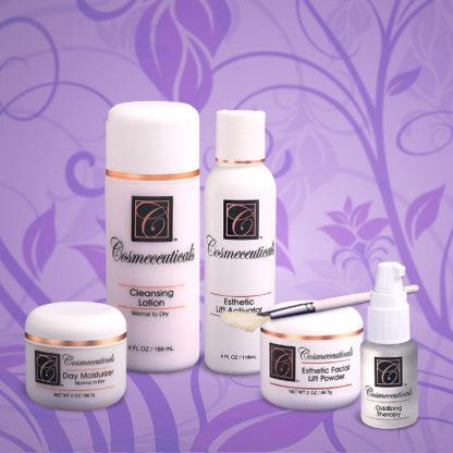 Esthetic Facial Lift Set for Dry Skin